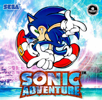 Photo de la boite de Sonic Adventure